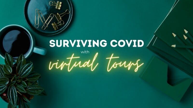 Surviving covid19 with interactive virtual tours